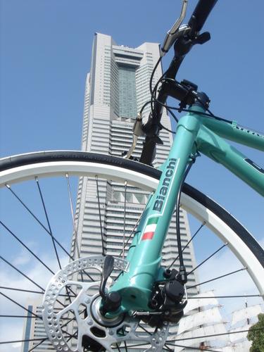 The Yokohama Landmark Tower &Sail Training Ship NIPPON MARU