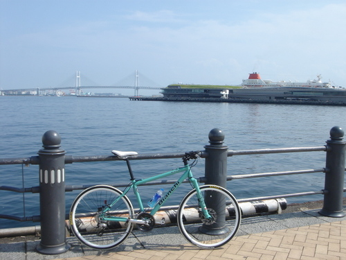 Ōsanbashi Pier &The Yokohama Bay Bridge